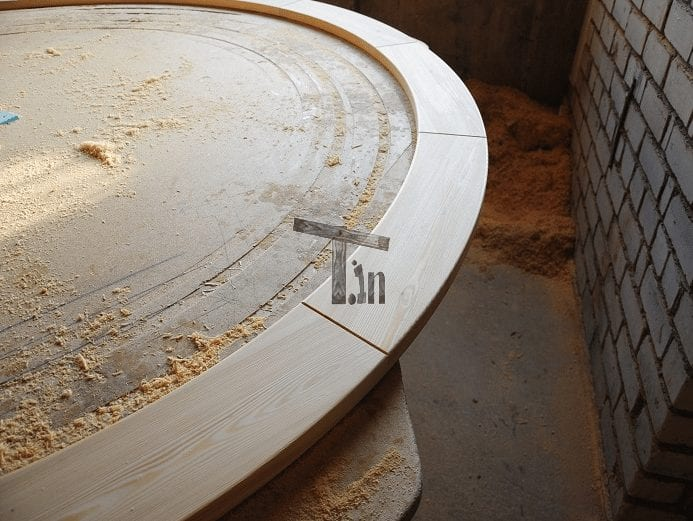 Hot Tub Wooden Round Edge TimberIN 1