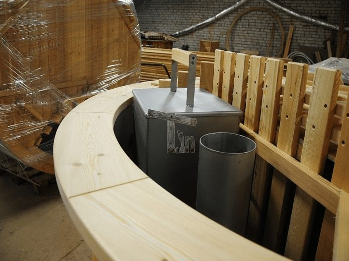 Installation Of Wood Burner In Hot Tub Timberin 3