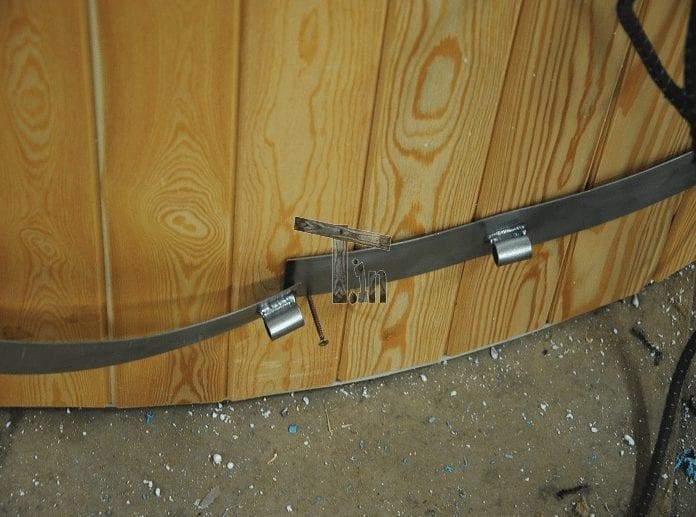 Starinless Steel Rings Hot Tub Timberin 1