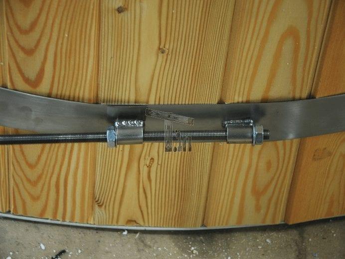 Starinless Steel Rings Hot Tub Timberin 2