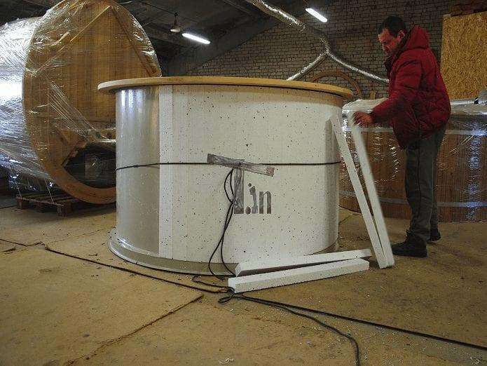 Wall Thermal Insulation Hot Tub Timberi