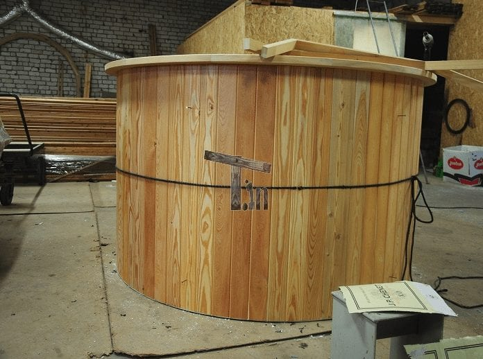 Wooden Decoration Of Hot Tub Timberin 3