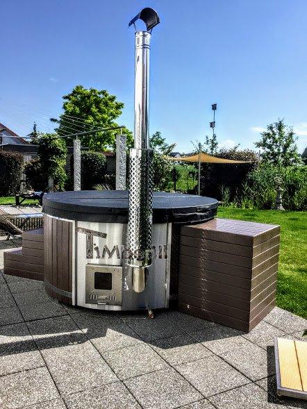 WELLNESS NEULAR SMART Scandinavian Hot Tub No Maintenance Required (2)