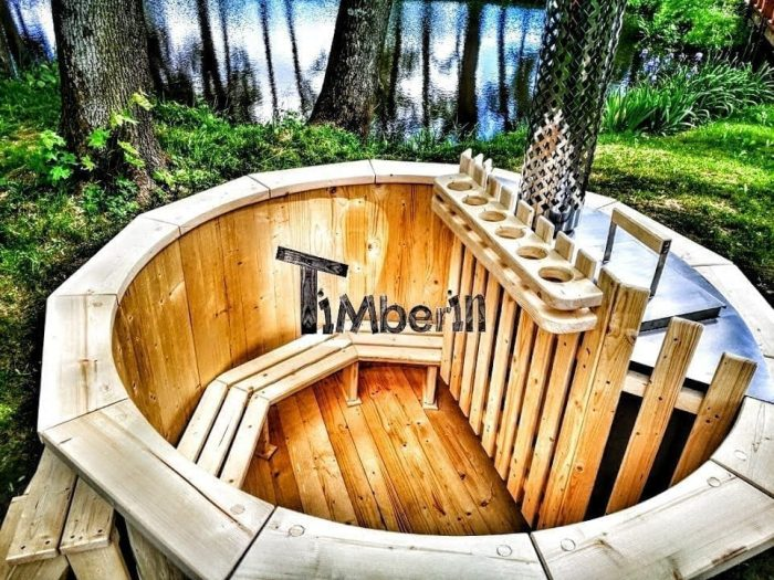 Round Wooden Hot Tubs