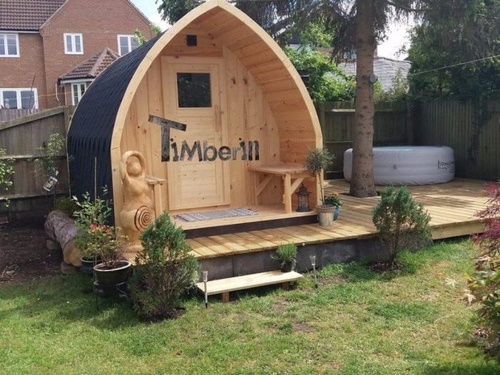 Outdoor Iglu Sauna, Sarah, Northamptonshire, UK (2)