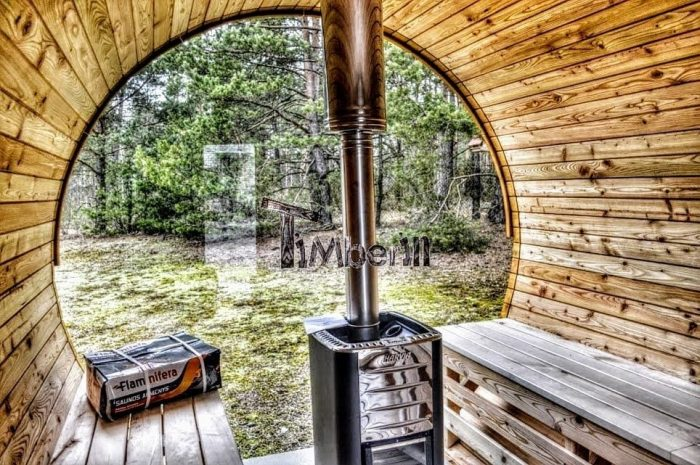 Barrel Outdoor Garden Sauna Review