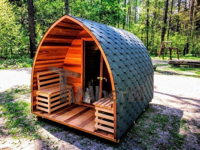 Red Cedar Outdoor Garden Wooden Sauna 4 6 Person