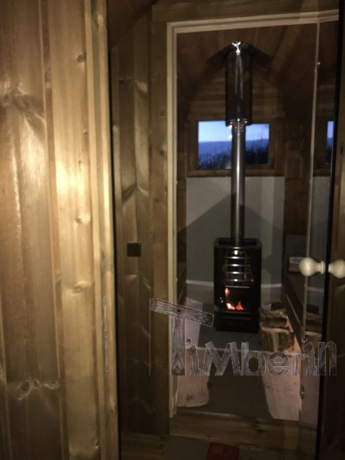 Outdoor Sauna Iglu + Wood Fired Hot Tub With Integrated Wood Burner, Wellness Royal, Paul, Sligo, Ireland (1)