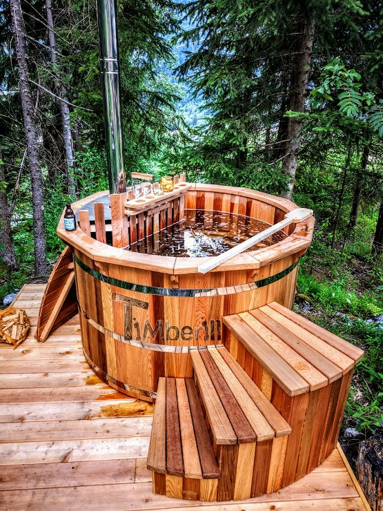 Canadian Red Cedar Wooden Royal SPA (2)