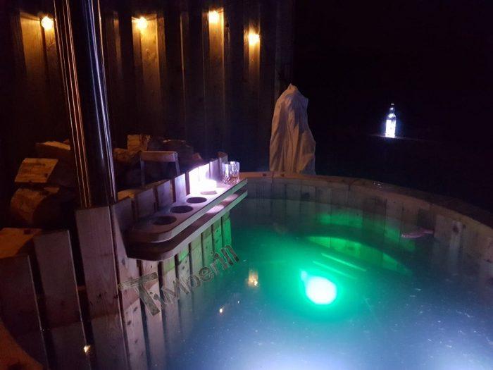 WOODEN HOT TUB DELUXE DESIGN, Stuart, Isle Of Skye, U.K (1)