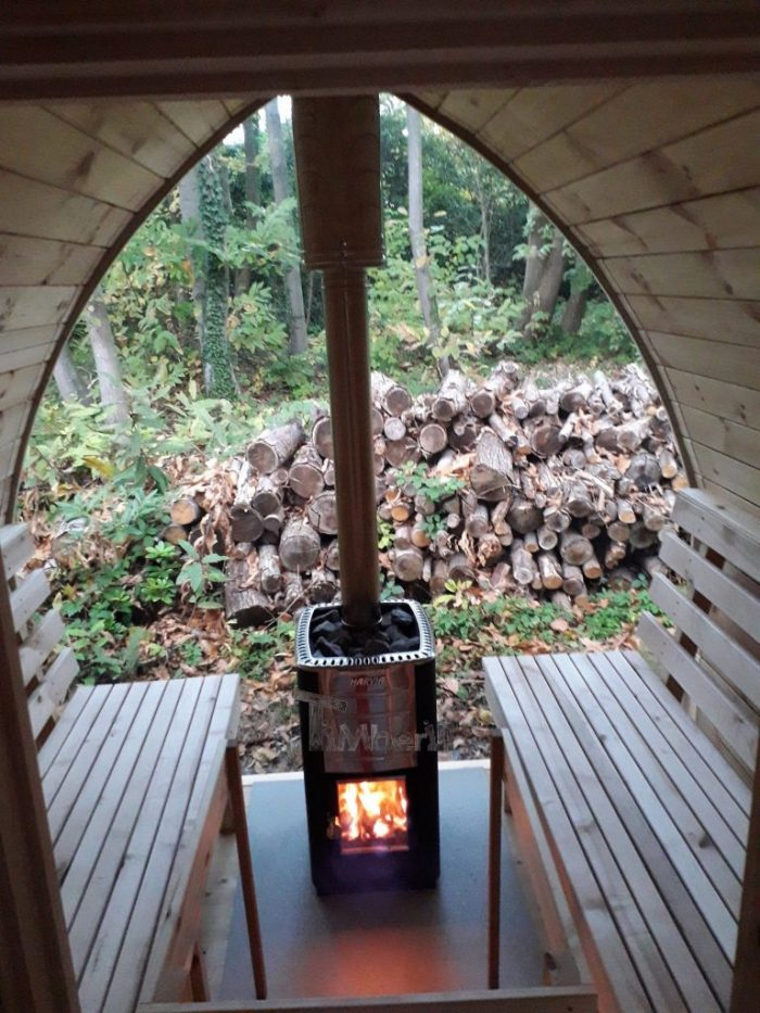 Outdoor Garden Sauna Igloo Design, Jolyon, Kent, U (1)