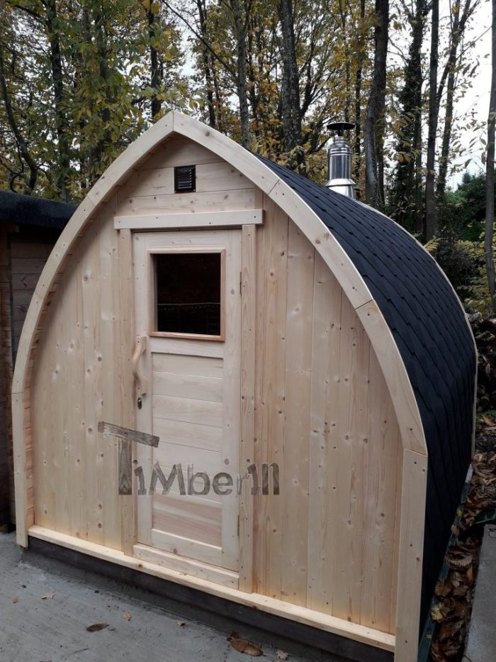 Outdoor Garden Sauna Igloo Design, Jolyon, Kent, U (2)