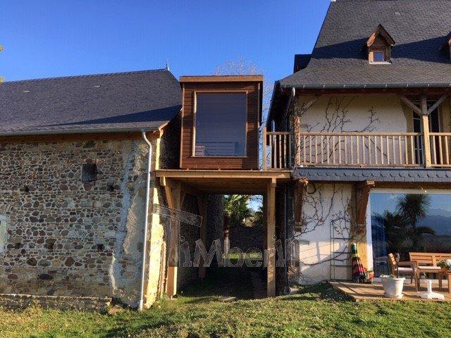 Modern Outdoor Garden Sauna, Jean Marc, Saucède, France (7)