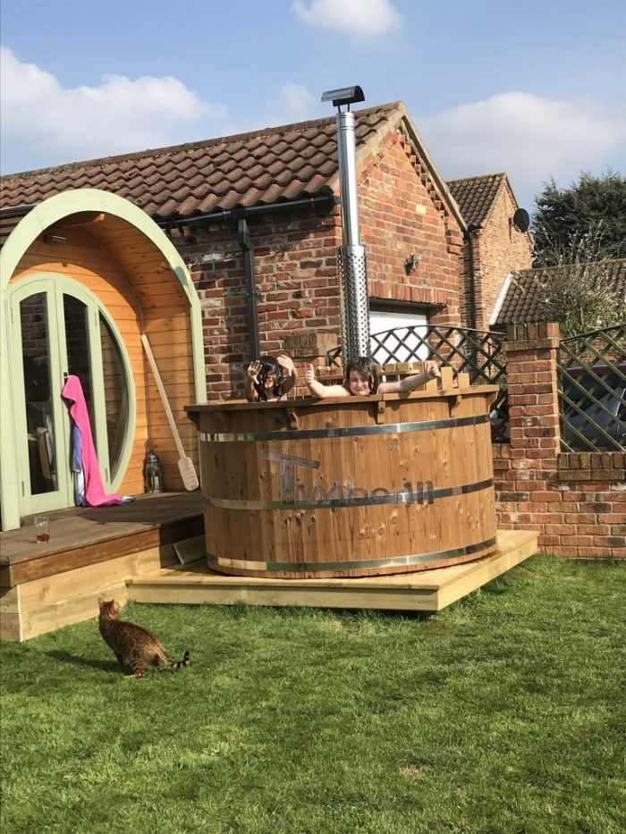 Wooden Hot Tub Thermo Deluxe, Helen, North Yorkshire, U K