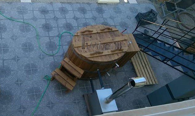 Wooden Hot Tub For 2 Persons, Andy, Sissi, Crete (1)