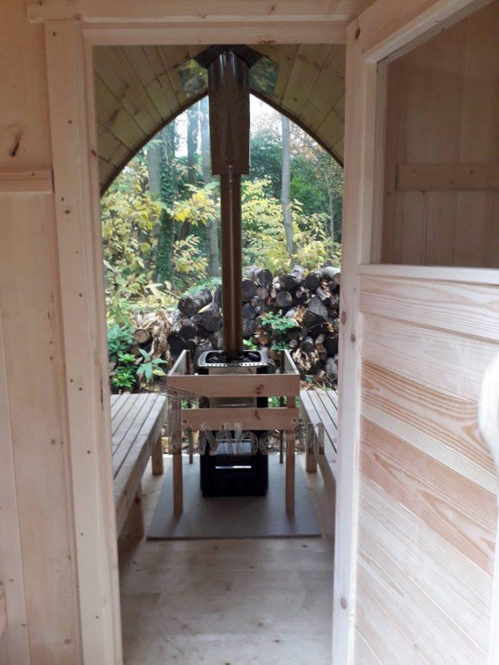 Outdoor Garden Sauna Igloo Design, Jolyon, Kent, U K (2)