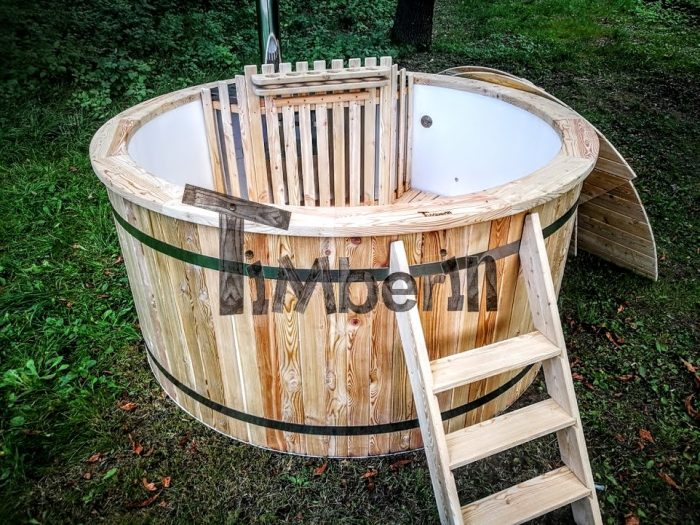 Outdoor Garden Hot Tubs Jacuzzi With Polypropylene Liner For Sale