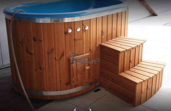 Oval Hot Tub For 2 Persons With Fiberglass Liner, Geoffrey And Sandra, Dörflingen, Schwitzerland (1)