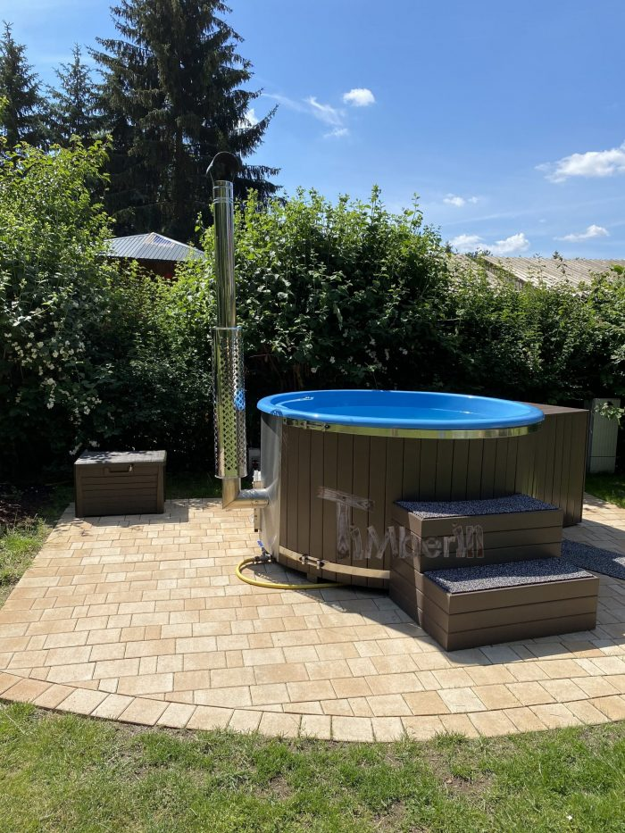 Outdoor Whirlpool Hot Tub With Smart Pellet Stove, Rocco, Eggersdorf, Germany (1)