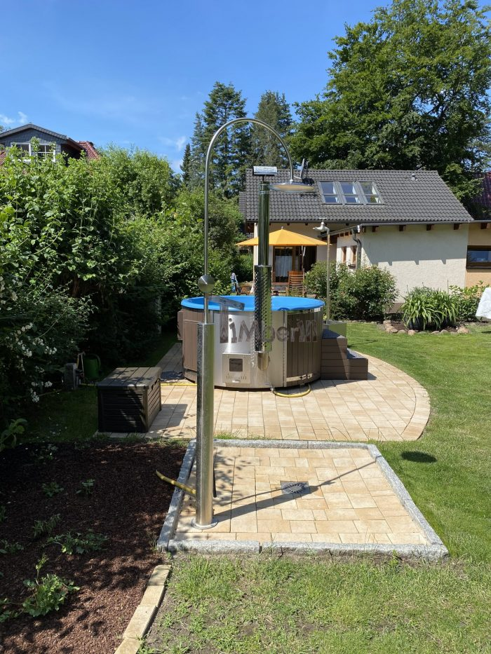 Outdoor Whirlpool Hot Tub With Smart Pellet Stove, Rocco, Eggersdorf, Germany (2)