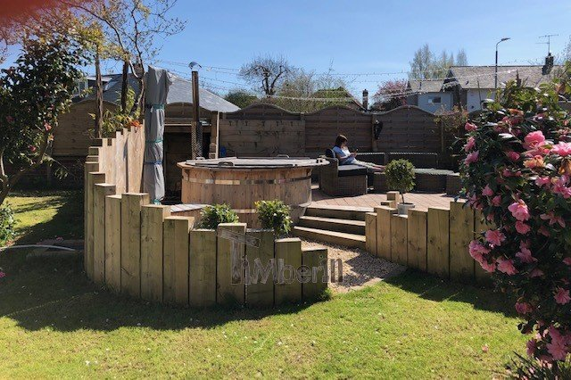 Wooden Outdoor Spa In Thermowood Deluxe, Steph, Ayr, United Kingdom (1)