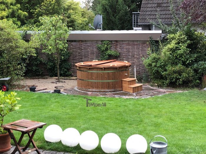 Wooden Hot Tub Possible With Jets Deluxe Thermowood, Cornelia, Ratingen, Germany (3)
