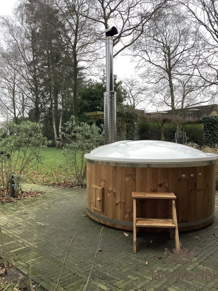 Outdoor jacuzzi hot tub wood fired 4 6 persons with snorkel burner, eric, hulten, netherlands (2)